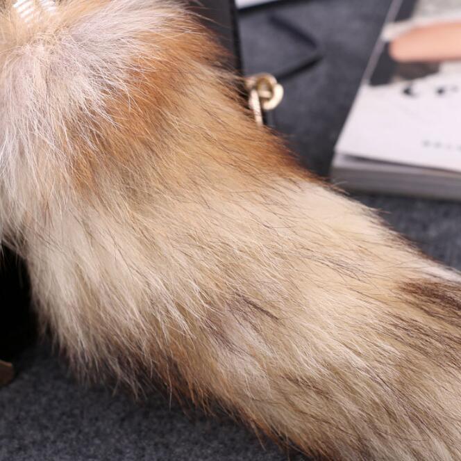 Chaveiro rabo de raposa - pet play cosplay